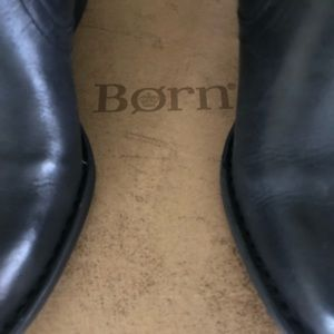 Born Leather knee high Boots